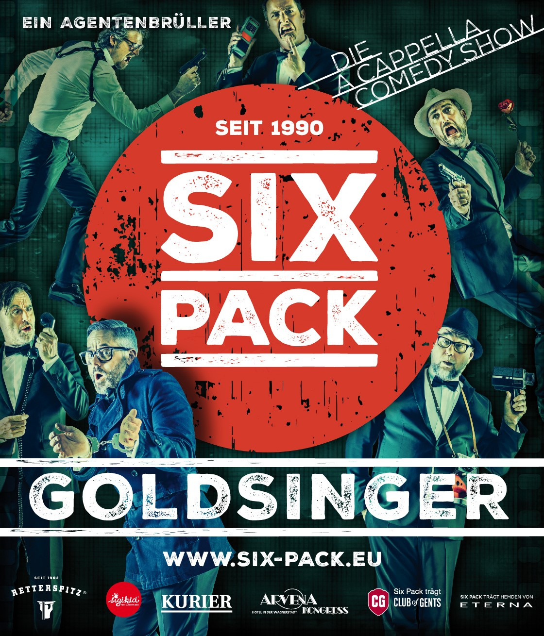 Image for SIX PACK - DIE A CAPPELLA COMEDY SHOW //