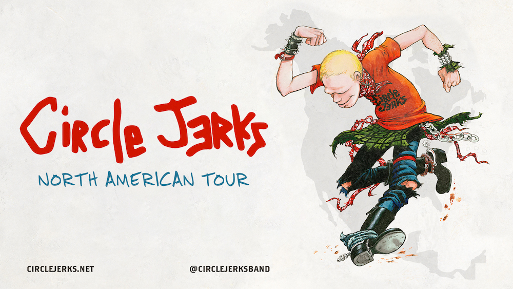 Image for *NEW DATE* CIRCLE JERKS