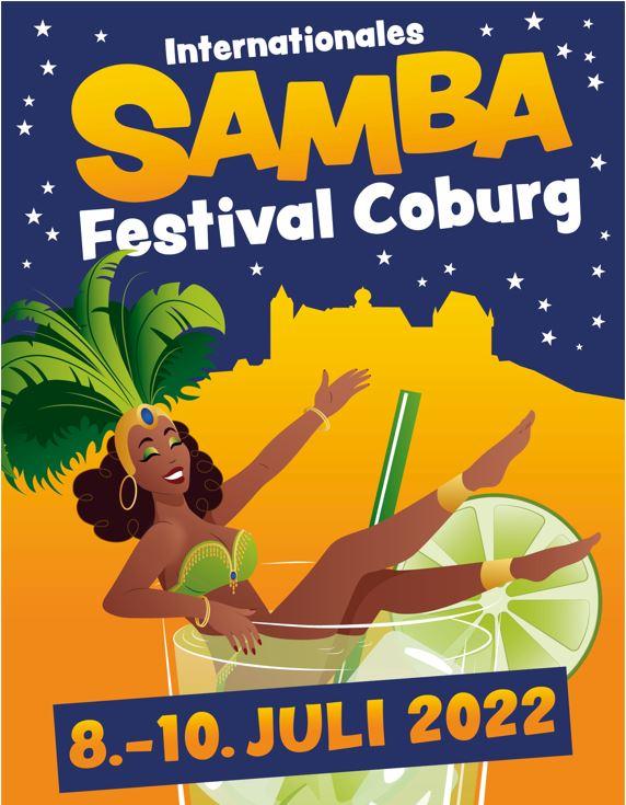 Image for Internationales Samba-Festival vom 12.-14. Juli 2019 in Coburg - 3-Tages Ticket für Freitag, Samstag & Sonntag