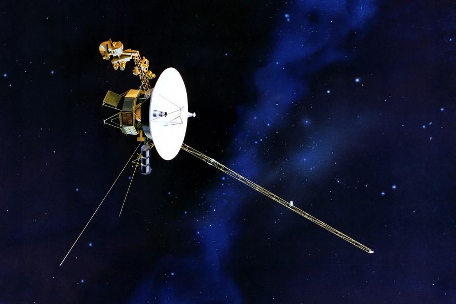 Image for Auf den Spuren der Voyager-Sonden