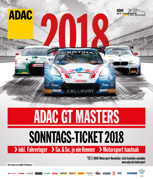 Image for ADAC GT Masters 2018 - Tagesticket Sonntag (05.08.2018)