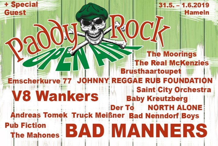 Image for PADDY ROCK OPEN AIR FESTIVAL 2019