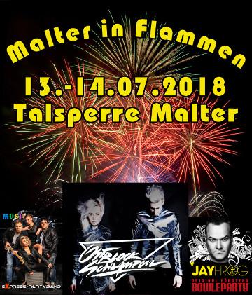 Image for Malter in Flammen - 13. - 14.07.2018 - Freitag & Samstag