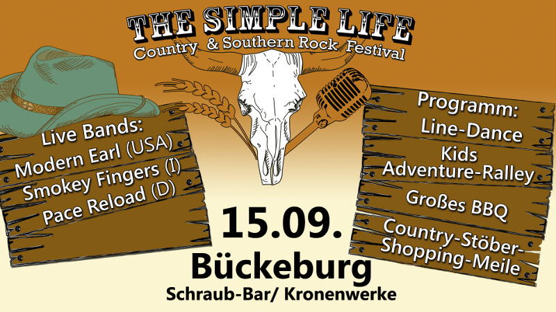 Image for THE SIMPLE LIFE - Country & Southern Rock Festival
