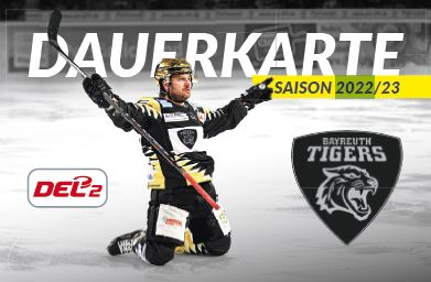 Image for Dauerkarten Paket 2 - Bayreuth Tigers Saison 2021/2022