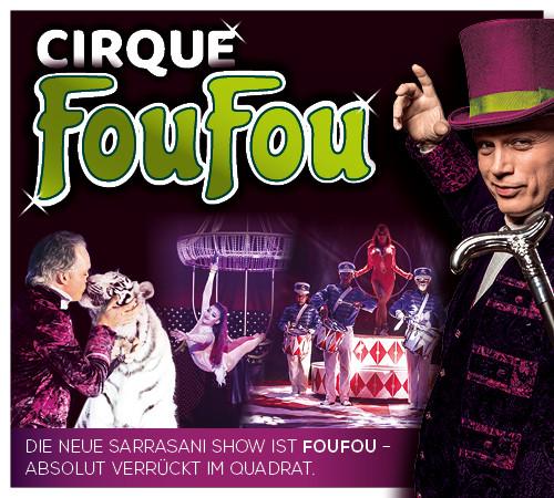 Image for FouFou - absolut verrückt im Quadrat: Dinner- Variètheater Dresden -  Donnerstag