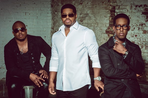 Image for BOYZ II MEN with Ginuwine