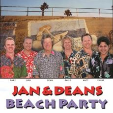 Image for Jan & Dean Beach Party starring Dean Torrence