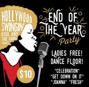 Image for End of the Year Party with Hollywood Swingin' - Tribute to Kool & The Gang!