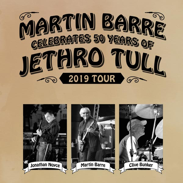 Image for Martin Barre Celebrates 50 Years Of Jethro Tull