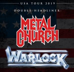 Image for Metal Church and Doro of Warlock with Images of Eden