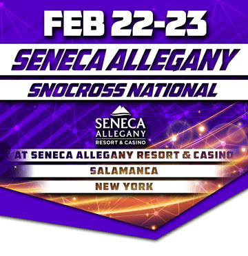 Image for Seneca Allegany Snocross National - Friday Feb. 22 & Saturday Feb. 23, 2019