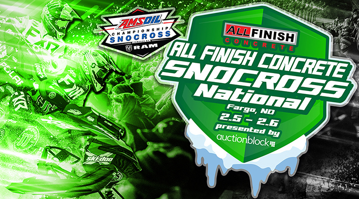 Image for Fargo Snocross National - Friday, Feb. 5 through Saturday, Feb. 6 2021 - TICKETS AVAILABLE AT THE BOX OFFICE!