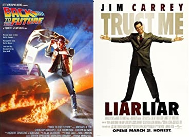 Image for Back to the Future (PG13) / Liar Liar (PG13) Screen 2 (106.3 FM)