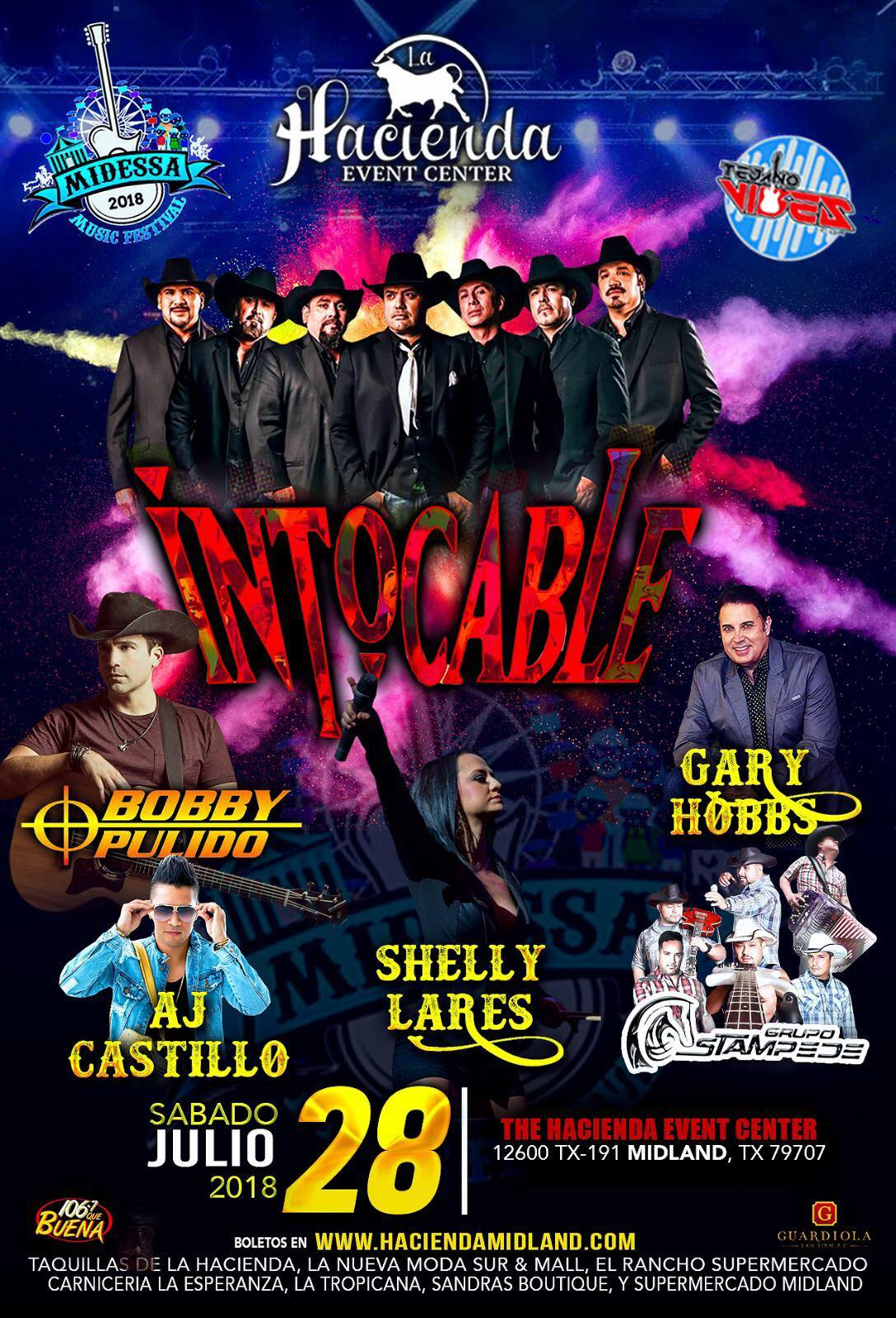 Image for INTOCABLE, BOBBY PULIDO, AJ CASTILLO, GARRY HOBBS