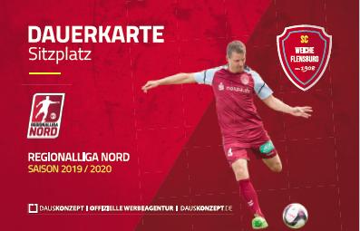 Image for SC WEICHE FLENSBURG 08 Dauerkarte 2019/20