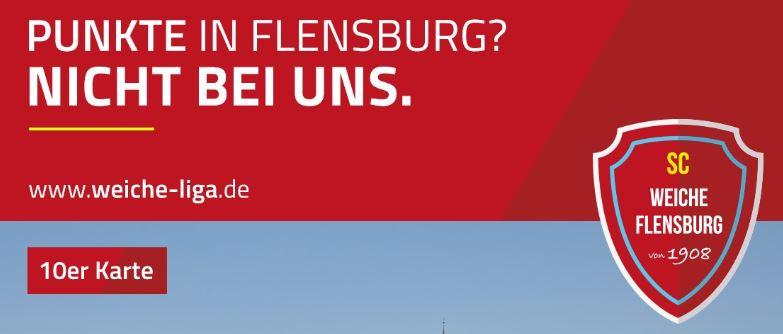 Image for 10er-Karte Saison 2019/2020 - SC Weiche Flensburg 08