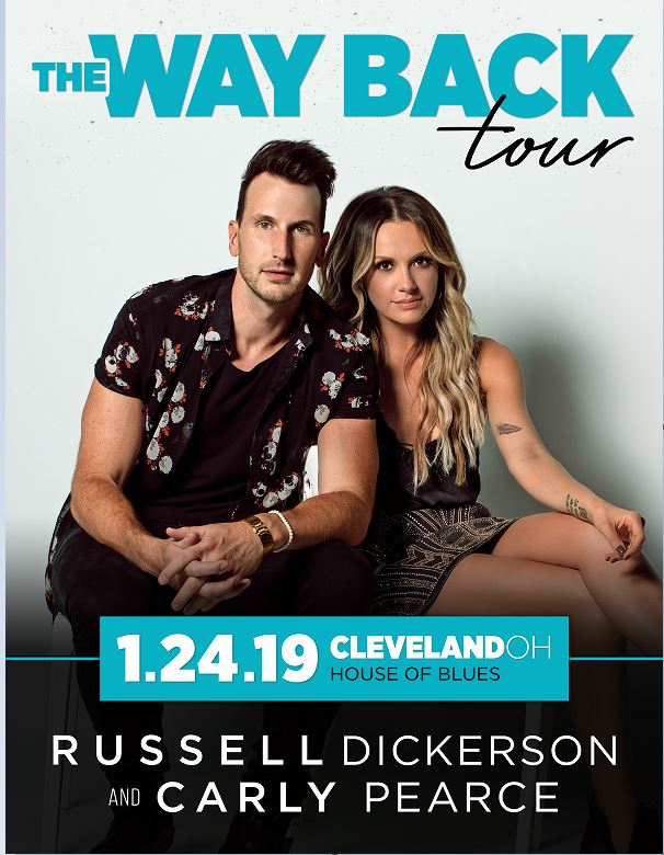 Image for Russell Dickerson and Carly Pearce - Feb 22