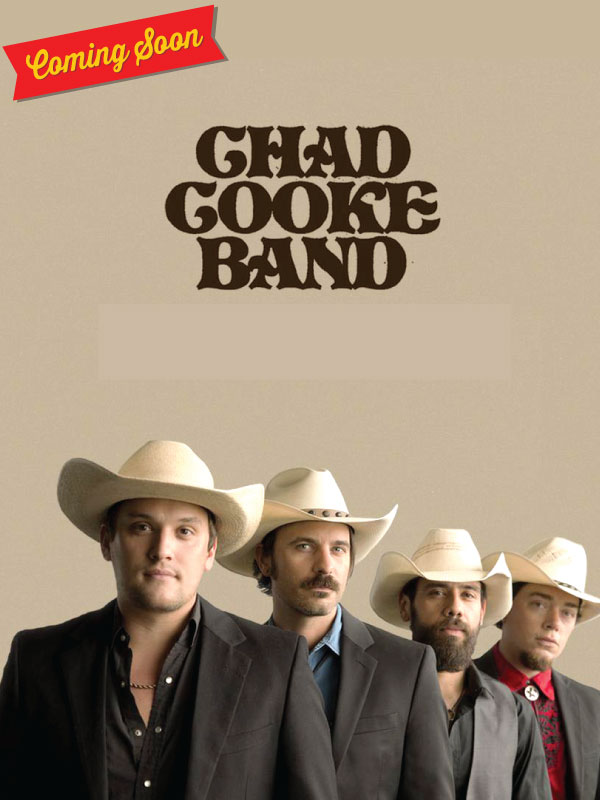 Image for Chad Cooke Band  - October 19, 2019