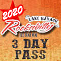 Image for 2020 Lake Havasu Rockabilly Reunion - 3 DAY PASS