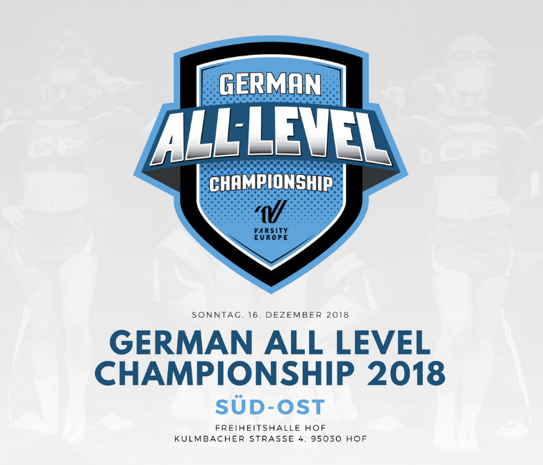 Image for German All Level Championship Süd-Ost 2018