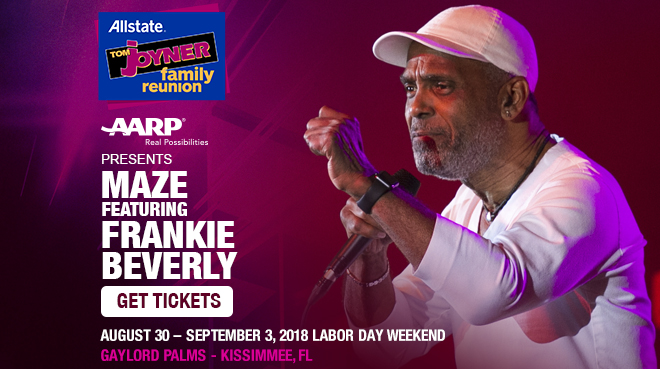 Image for AARP presents Maze featuring Frankie Beverly