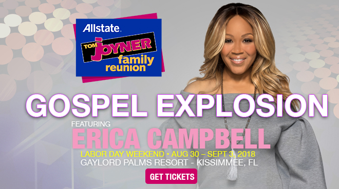 Image for The Gospel Explosion Inspired by African Pride featuring Erica Campbell