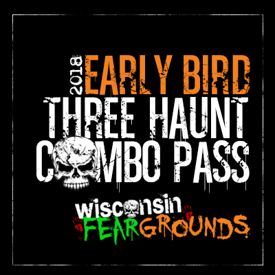 Image for Early Bird 3 Haunt Combo Pass - Morgan Manor, Slaughterhouse and Torment Haunted Houses! (LIMITED QUANTITY)