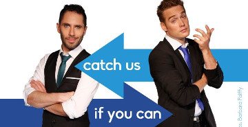 Image for Catch us if you can