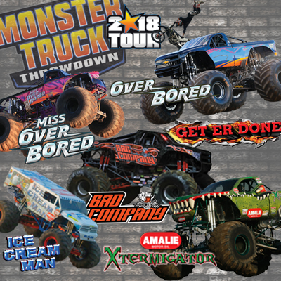 Image for Monster Truck Throwdown - 2018 Tour