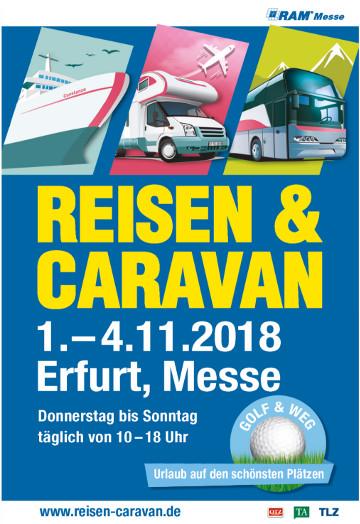 Image for Reisen & Caravan 01. - 04.11.2018 - Tageskarte