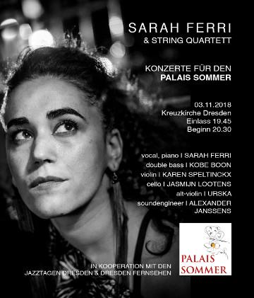 Image for Sarah Ferri - Konzerte für den Palais Sommer
