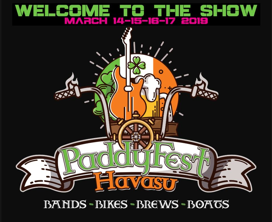 Image for 4 DAY PASS General Admission - Paddyfest Havasu - March 14 - March 17, 2019