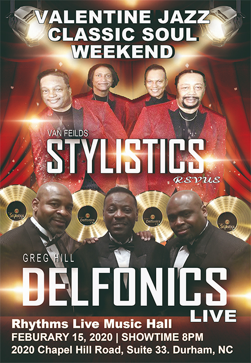 Image for Van Fields STYLISTICS revue along with THE DELFONICS LIVE featuring Greg Hill