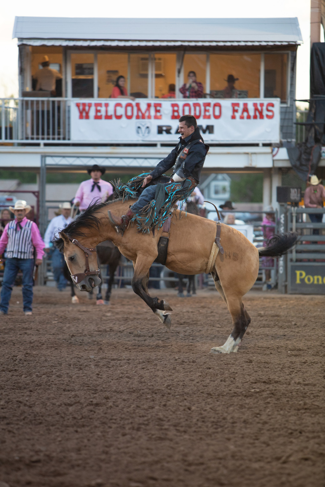 Image for 8/25 PRCA Ram Rodeo Including Gate Admission