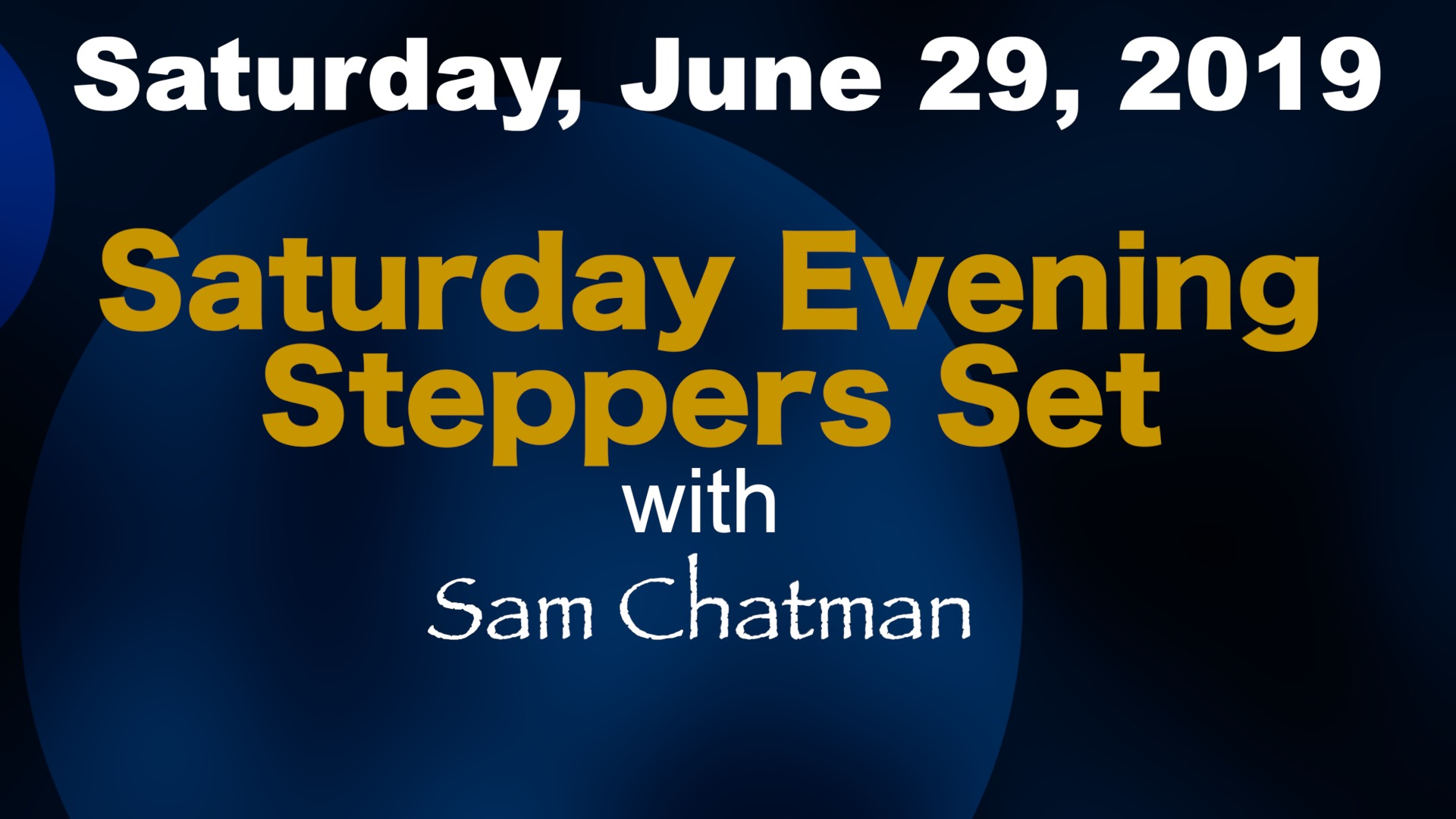Image for Steppers Event