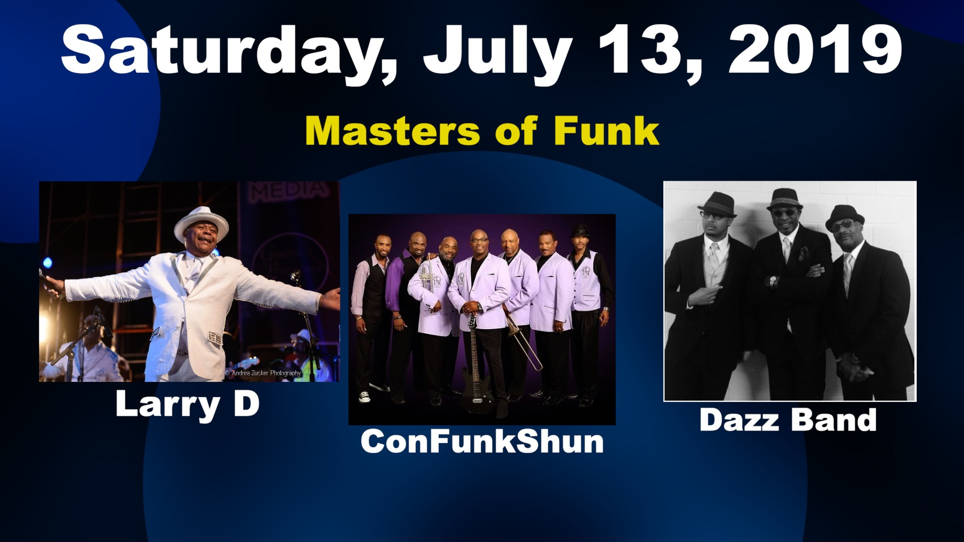 Image for Larry D of the Barkays, ConFunkShun & The Dazz Band
