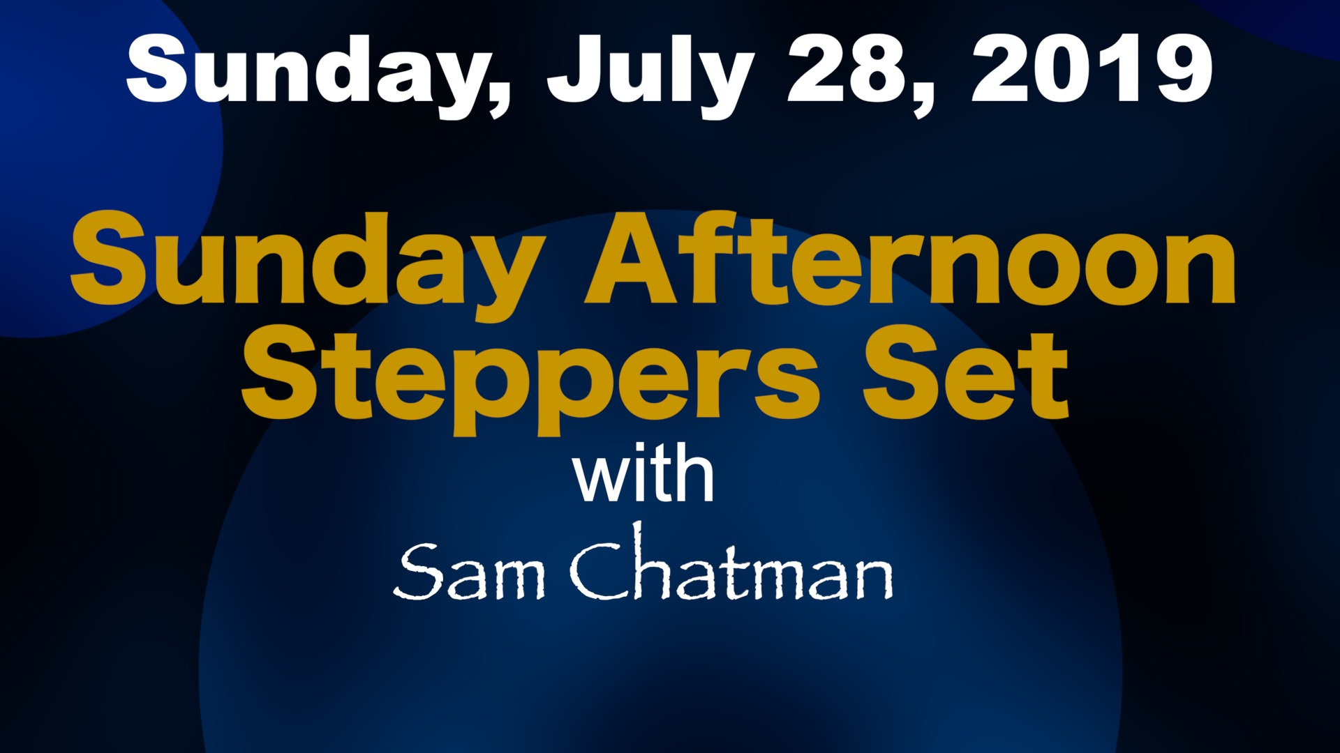 Image for POSTPONED: Steppers Event