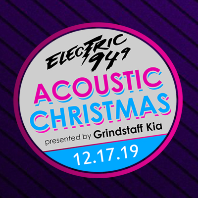 Image for Electric 94.9's Acoustic Christmas