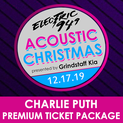 Image for Electric 94.9's Acoustic Christmas PREMIUM PACKAGE
