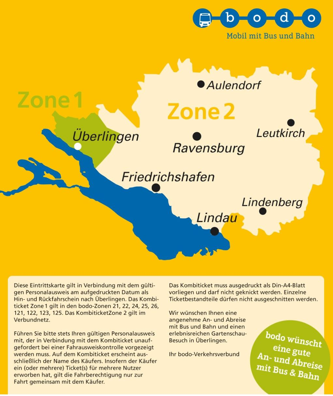 Image for Kombiticket LGS Überlingen + bodo Bodensee-Oberschwaben Verkehrsverbund