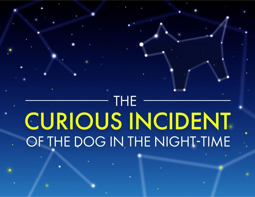 Image for The Curious Incident of the Dog in the Night-Time @ Thomas Jefferson High School