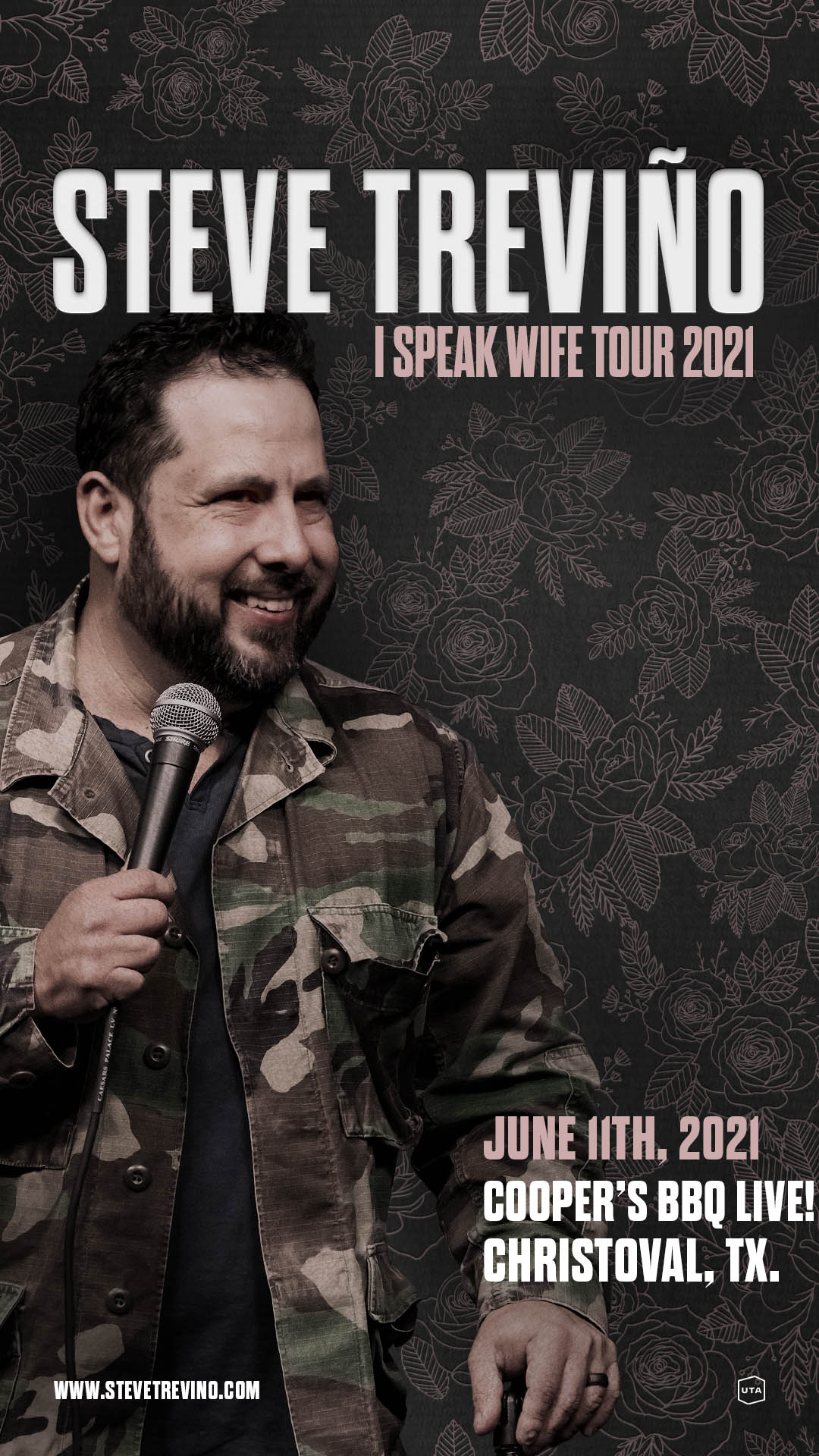 Image for Steve Treviño - I Speak Wife Tour 2021