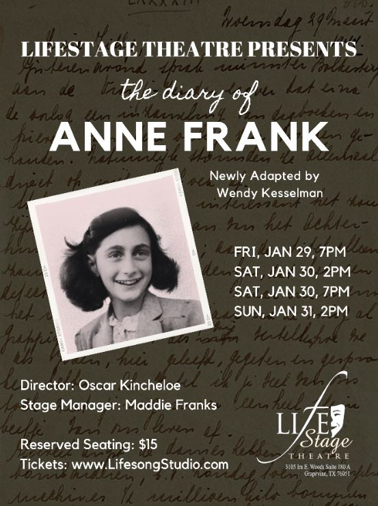 Image for The Diary Of Anne Frank (ATTIC Cast)